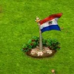 Flagge Paraguay