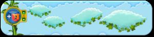 Wolkenreihe Frühlingsbeginn