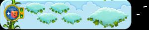 Wolkenreihe Frühlingsblüher