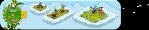Wolkenreihe Heitere Hundstage