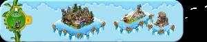 Wolkenreihe Alpenparade