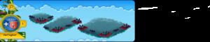Wolkenreihe Grabgewölbe
