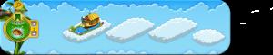 Wolkenreihe Eisfischen im Nu